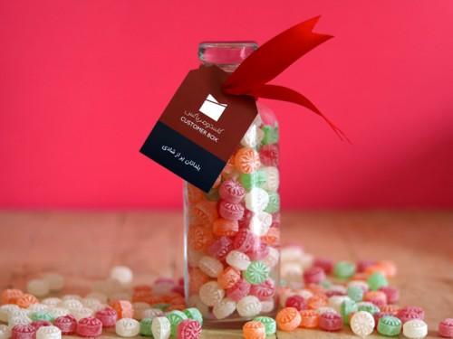 شیشه آبنبات یلدا - طعم خوش آبنبات هدیهای برای بهترین مشتریانتان