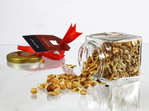 شیشه دانههای بوداده - بستهای خوشطعم و جذاب